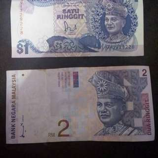 old currency note malaysia ringgit
