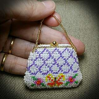 Peranakan Manek Mini Handbag