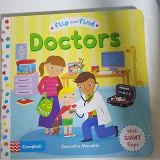 Campbell - Flip and Find DOCTORS