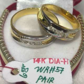 Couple Ring14k Diamond