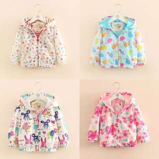 Kids fashion girl jacket