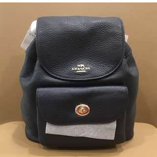 Brand NEW 100% Authentic Coach Leather Mini Backpack