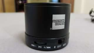 Bluetooth mobile speaker AMEX call mic