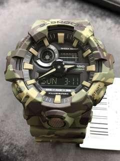 Casio G-Shock GA-700CM-3A ga-700cm-3a GA-700CM GA-700 camouflage 迷彩