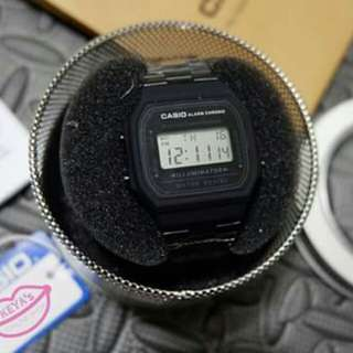 Vintage Casio Matte Black