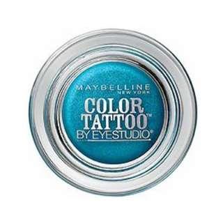 Maybelline EyeStudio Color Tattoo 24Hr Eyeshadow #Tenacious Teal