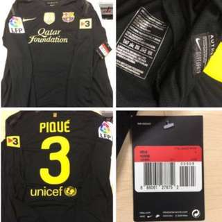 Authentic Nike Barcelona Player Issue Jersey Pique Shirt