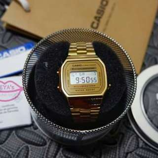 Vintage Casio Gold