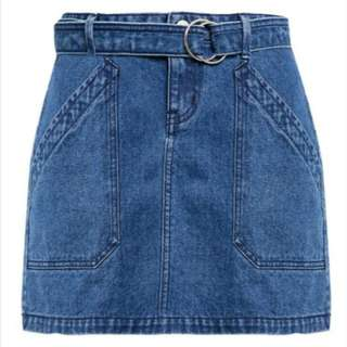 Penshoppe A-Line Skirt with Cut and Sew Details (Ordered from ZALORA)