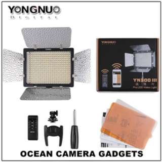 Yongnuo YN300 III YN 300 LED Light studio photobooth lighting