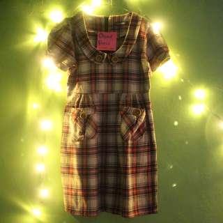Oxford Dress / Dress kotak kotak