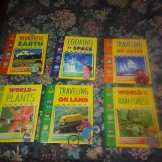 Kids learning books