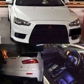 Mitsubishi Lancer EX 1.5L for 3 month rent. Cheap and great workhorse
