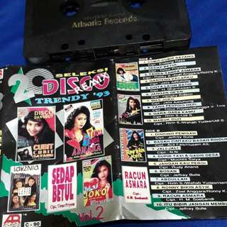20 seleksi disco remix '93 ( cassette tape )