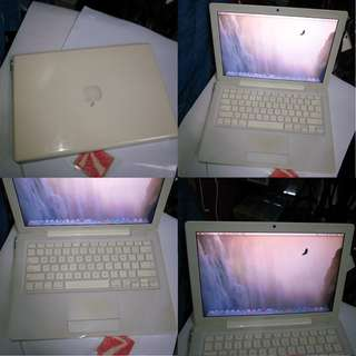 Apple MacBook 3GB 250GB Laptop Notebook $300