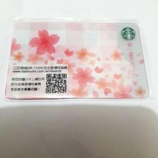 台灣 星巴克 櫻花 春櫻綻放隨行卡 Starbucks card 2018