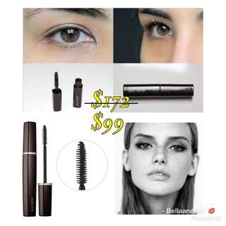 【$172】Laura Mercier FULL BLOWN VOLUME SUPRÊME LASH BUILDING MASCARA Deluxe Travel Size 5.7g Shade: Black **Give real lashes a thicker, longer, curled appearance with each stroke.