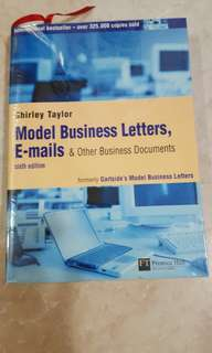 Model Business Letters, E-mails