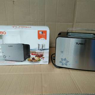 Pop up toaster Turbo, pemanggang roti multi fungsi, 500 watt