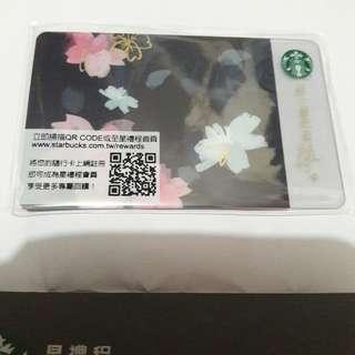 台灣 星巴克 櫻花 夜櫻燦燦隨行卡 Starbucks card 2018