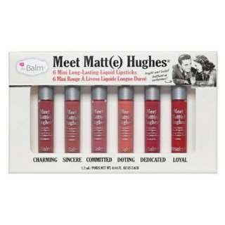 THE BALM - Meet Matte Hughes Mini Set