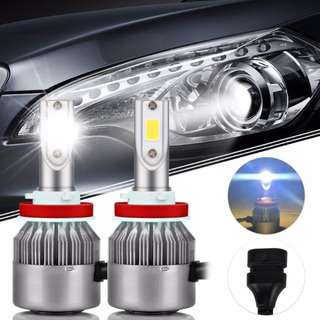 Car Led Bulb H11 C6 Super Bright 36W Fog lamp Dual Color White/Yellow