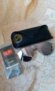 Original rayban RB3574 blaze lens bronze copper color lens
