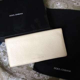 購自英國Dolce & Gabbana long wallet D&G 米蘭 意大利品牌