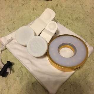 Clip lens (Wide lens ,fisheye ,light ) 魚眼 曠角鏡