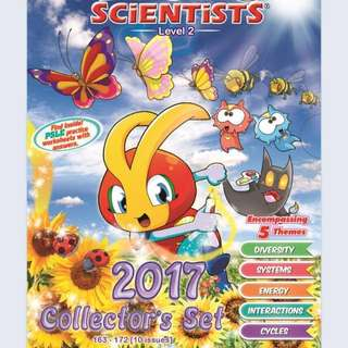 BNIB The Young Scientist - 2017 Collectors' Set (Level 2)