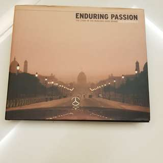 Mercedes Benz Enduring Passion book