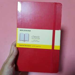 Moleskin Squared Notebook