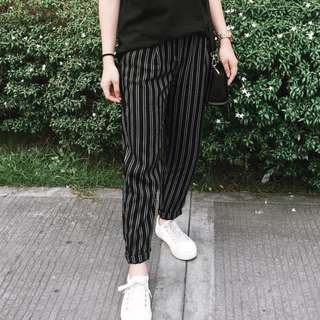Bershka Striped Trousers