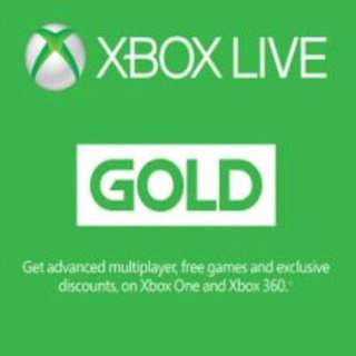 Xbox Live Gold (3months)