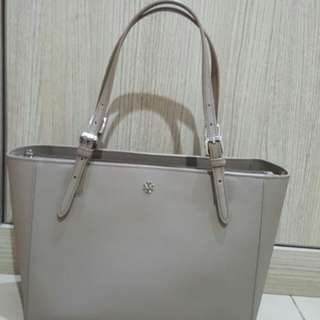 Bag Tory Burch york small french gray