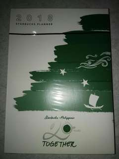 Starbucks 2018 Planner (Unboxed)