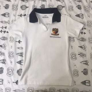 acs international school polo tee shirt girls
