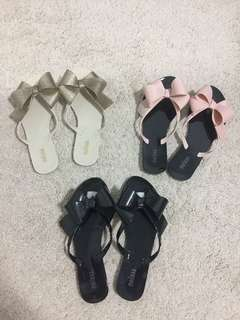 Melissa Inspired Bow Sandals