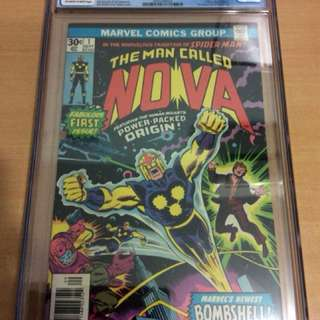 Nova CGC 9.0 1st appearance of nova
