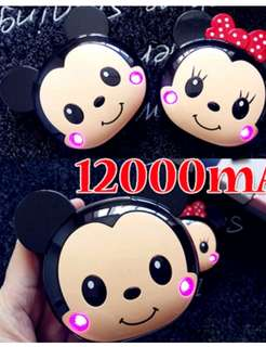 Minnie Powerbank 1200mAh