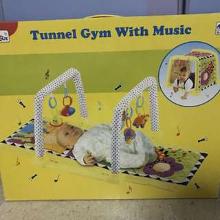 Tunnel Gym with Music