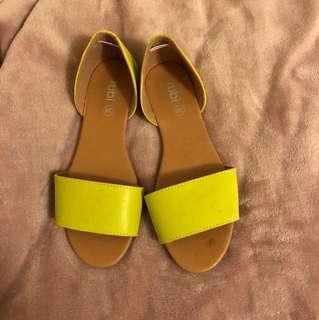 Rubi Mustard/Yellow Flats