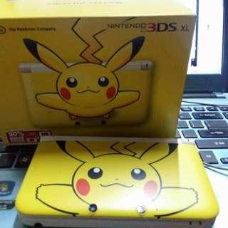 NINTENDO 3DS XL Pikatchu Pikemon Edition