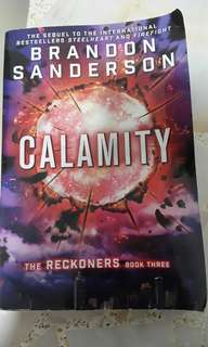 The Reckoners : Calamity by Brandon Sanderson