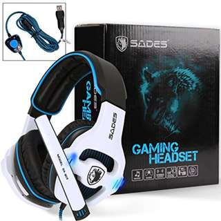 New & Original SADES SA-903 (white) gaming headset