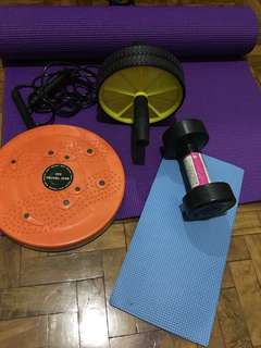 Exercise equipment bundle