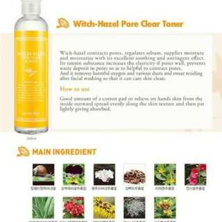 Secret Key Witch Hazel Toner