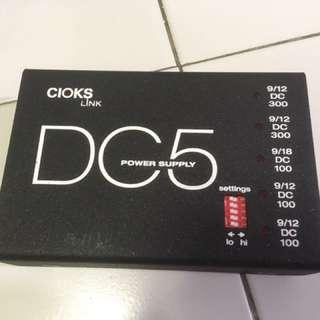 Cioks DC5 pedal board power supply