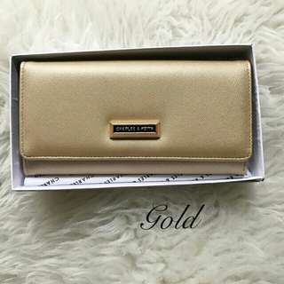 DOMPET CHARLES N KEITH IMPORT FREE BOX.