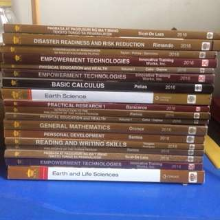 RUSH SALE!!! SENIOR HIGH SCHOOL BOOKS